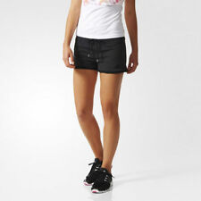adidas Patternless Mid Rise Shorts for Women