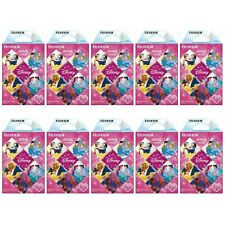 10 Packs 100 Photos Disney Princess FujiFilm Fuji Instax Mini Film Polaroid SP-2
