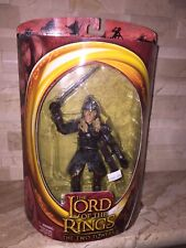The Lord Of The Rings The Two Towers Eomer Sword Attack Figure
