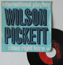 "Vinyle 45T Wilson Pickett  ""International playboy"""
