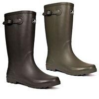 Trespass Mens Waterproof Wellies Rubber Wellington Boots Recon X