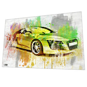 Audi R8 supercar Wall Art - Graphic Art Poster