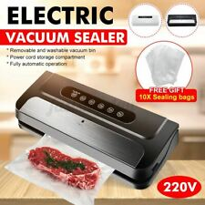 110W Vacuum Sealer Machine Seal Meal Saver Food System Commercial Home,w/10 Bags
