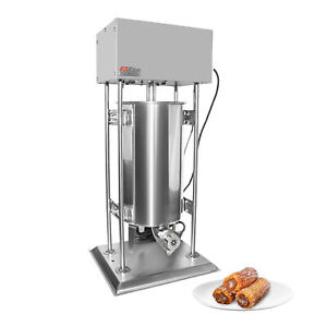 Churro Maker   Vertical Electric Type   Stainless Steel   15L   Pedal Control