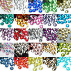2000pcs sparkling Resin Rhinestone Flatback Crystal 14 Facets Gems beads,2mm New