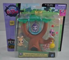 LPS Littlest Pet Shop Pets in the City Treats & Treetops Set #245 #246 #247 NEW
