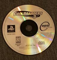 Cool Boarders 3 PlayStation 1 (PS1 , 1998) (DISC ONLY)