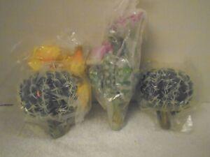 3 Artificial Fake Cactus