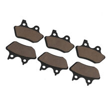 Front & Rear Carbon Brake Pads For Harley Touring Sportster Dyna Wide Glide FXDX