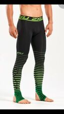 2XU Men's Power Recovery Compression Tights, Pants, Underwear, Ski, Skiing, L