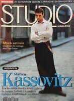MATHIEU KASSOVITZ May 1996 FRENCH STUDIO Magazine TOM CRUISE / ALAIN DELON