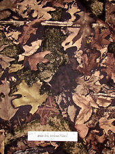 True Timber Camo Hunt Camp Fabric Camouflage Brown Leaf Twigs CP47931 - 20""