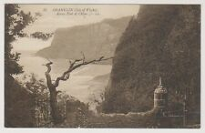 Isle of Wight postcard - Shanklin - Across Foot of Chine - LL No. 35 - P/U 1912