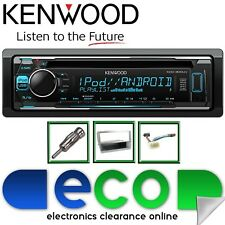 Honda Civic 01-06 KENWOOD CD MP3 USB Pantalla de Color multi estéreo de coche Kit De Plata