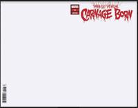 Web Of Venom Carnage Born 1 Marvel Blank Sketch Variant Donny Cates