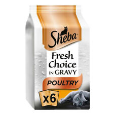 Sheba Fresh Choice Poultry Select Cuts In Gravy 6X50g