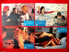 KING QUEEN KNAVE 1972 SEXY GINA LOLLOBRIGIDA DAVID NIVEN RARE EXYU LOBBY CARDS