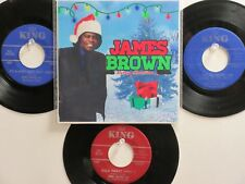 4 'JAMES BROWN & THE FAMOUS FLAMES' HIT 45's+1P(Copy)[The Christmas Song] 60's!