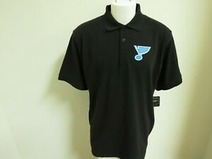 New Sz S-5XL Black Solid NHL Mens Cotton #77U Golf Polo Shirt