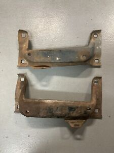 1966 1967 66 67 Chevy II Nova SS Rear Bumper Brackets LH RH Used Original GM