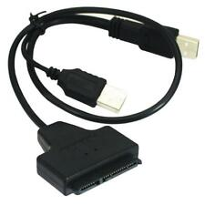 """NEW USB 2.0 to SATA Serial ATA Cable Adapter for 2.5"""" HDD SSD Laptop Hard Drive"""