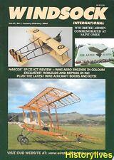 Windsock International V21 N1 Otto Biplane Morane Saulnier Type N Savoia Pomilio