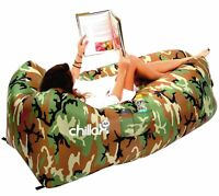 Inflatable Air Lounger for for Travelling, Camping, Hiking perfect for pool, hik
