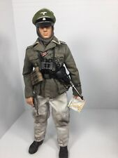 1/6 DRAGON GERMAN 2ND SS DIV NCO EASTERN FRONT+MP-40+P-38 WW2 DID BBI 21st