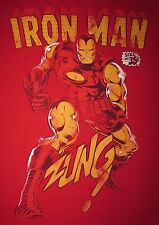 IRONMAN- COMIC BOOK COVER -STILL ONLY 35 CENTS! - Men's size M - Graphic T-Shirt