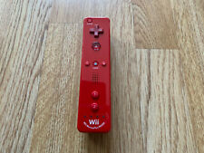 Official Nintendo Wii Red Motion Plus Remote