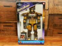 Beetleborg Deluxe Chromium Gold - Boxed Action Figure - Bandai