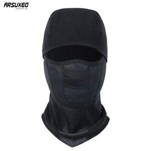 MTB Bike Winter Riding Cap Cycling Full Face Mask Black Cycling Cap Ski Mask
