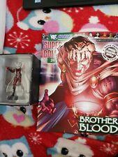 Eaglemoss DC Comics Super Hero Collection # 39 BROTHER BLOOD + Magazine
