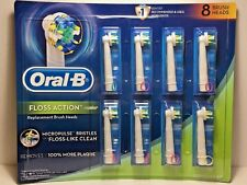 Oral-B FLOSS ACTION Replacement Toothbrush Heads, 8 Counts