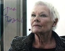 Judi Dench signed 10x8 Image F photo (UACC Registered AFTAL approved dealer COA)