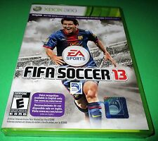 FIFA Soccer 13 Microsoft Xbox 360 *Factory Sealed! *Free Shipping!