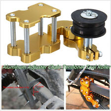 Professional Golden Aluminum Adjuster Chain Tensioner Bolt on Roller Handle Tool