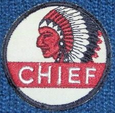 "3"" CHIEF GASOLINE Uniform/Hat PATCH -N.O.S- WASHINGTON, IDAHO, OREGON, MONTANA"