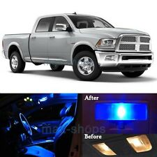 12Pcs Blue Interior LED SMD Lights Lamp Package Kit for 2009-2017 RAM 1500 MP