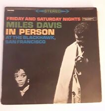 Miles Davis In Person Friday And Saturday Nights At The Blackhawk, 2 lp 1961 nic