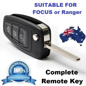 Transponder REMOTE FLIP KEY SUITABLE FOR FORD FOCUS PX RANGER  2011 to 2015