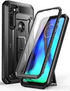 For Motorola Moto G Stylus 2020, SUPCASE w/ Built-in Screen Case Kickstand Cover