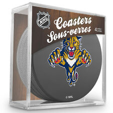 Official National Hockey League Licensed Florida Panthers Coaster Set