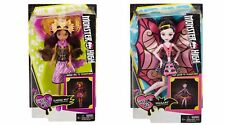 Monster High GHOUL TO WOLF CLAWDEEN & GHOUL TO BAT DRACULAURA 2017 dolls