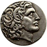 Ancient Greek King Alexander III the Great Silver Tetradrachm Coin 336-323 BC
