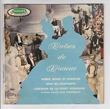 VALSES DE VIENNE 45T EP Johann STRAUSS Orch K DIEFENBAKER -Tiercé PANORAMA 3203