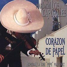 Mariachi Los Caporales : Corazon De Papel CD