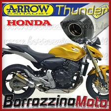 MARMITTA TERMINALE DI SCARICO THUNDER TITANIO ARROW HONDA HORNET 600 2007 2008