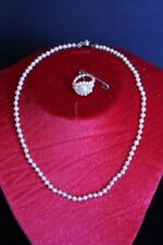 Lab-Created/Cultured Pearl Fashion Jewellery Sets
