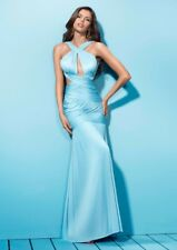 BNWT Forever Unique Spritz Cut Out Grecian Style Maxi Dress Gown UK8 RRP £250